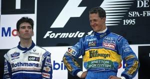 Хилл и Шумахер, Спа 1995